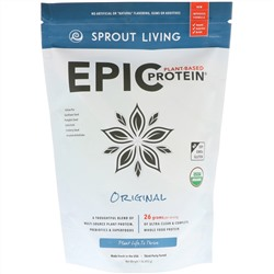 Sprout Living, Epic Plant-Based Protein, Original, 1 lb (455 g)