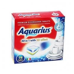 Таблетки для ПММ «Aquarius» ALLin1 (mini) 14 штук
